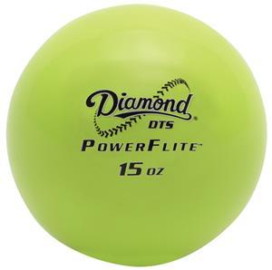 Diamond DTS PowerFlite Weighted Hitting Ball 6PK