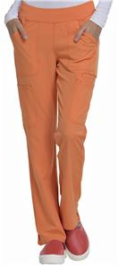 HeartSoul Womens Drawn To Love Cargo Scrub Pant