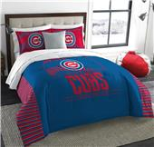 Northwest MLB Cubs King Comforter & Sham Set