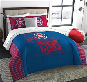 Northwest MLB Cubs King Comforter & Sham Set