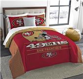 Northwest NFL 49ers King Comforter & Sham Set