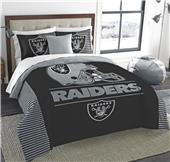 Northwest NFL Raiders King Comforter & Sham Set