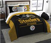 Northwest NFL Steelers King Comforter & Sham Set