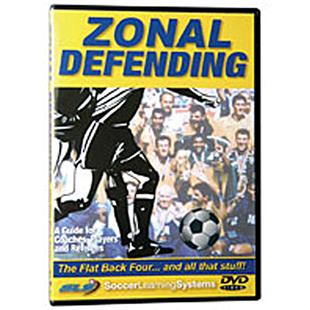 Soccer Zonal Defending Flat Back Four training DVD