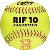 """Rawlings ASA RIF 12"""" Fastpitch Softballs - Dozens"""