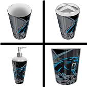Northwest NFL Carolina Panthers 4-Piece Bath Set