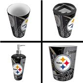 Northwest NFL Pittsburgh Steelers 4-Piece Bath Set