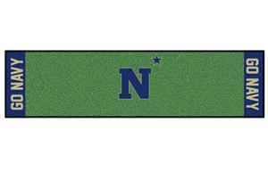 Fan Mats U.S. Naval Academy Putting Green Mat