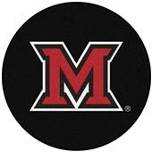 Fan Mats NCAA Miami University (OH) Puck Mat
