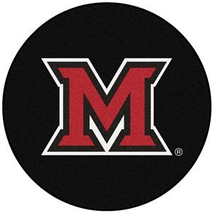 Fan Mats NCAA Miami University (OH) Puck Mat