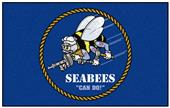 Fan Mats United States Navy SEABEES Ulti-Mat