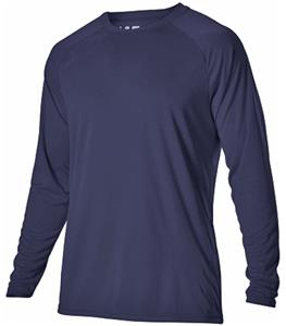 Alleson Adult/Youth Heather Tech LS Tshirt