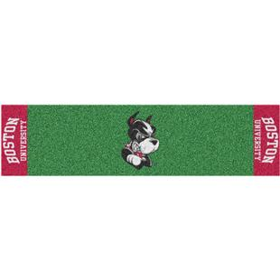 Fan Mats NCAA Boston University Putting Green Mat