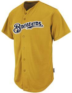 MLB Cool Base Brewers Baseball Jersey
