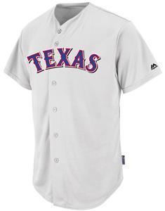 MLB Cool Base Rangers Baseball Jersey