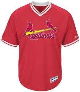 MLB Cool Base Cardinals V-Neck Baseball Jersey