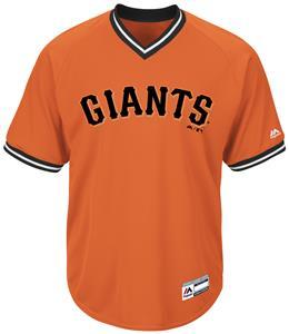 MLB Cool Base Giants V-Neck Baseball Jersey