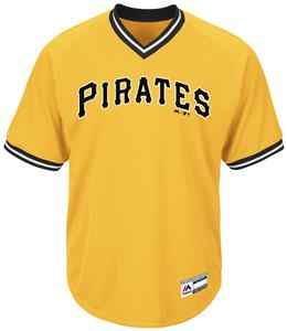 MLB Cool Base Pirates V-Neck Baseball Jersey