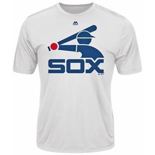 Cooperstown Evolution White Sox Baseball Tee