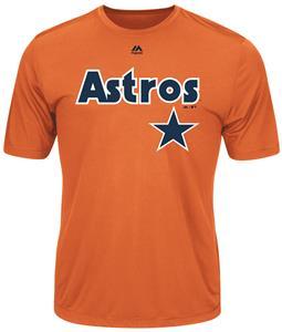 Cooperstown Evolution Astros Baseball Tee