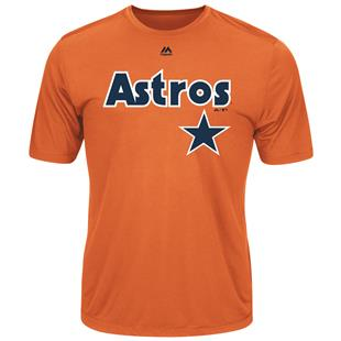Cooperstown Evolution Astros Baseball Tee