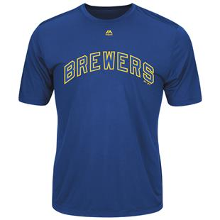 Cooperstown Evolution Brewers Baseball Tee