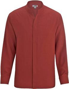 Edwards Mens Batiste Stand-up Collar Shirt