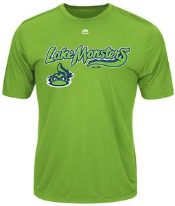 MiLB Evolution Vermont Lake Monsters Baseball Tee
