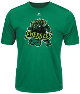 MiLB Evolution Eugene Emeralds Baseball Tee