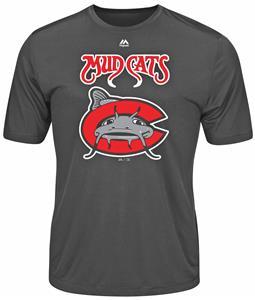 MiLB Evolution Carolina Mudcats Baseball Tee