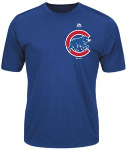 MLB Evolution Chicago Cubs Baseball Tee