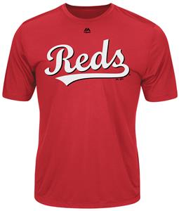 MLB Evolution Cincinnati Reds Baseball Tee