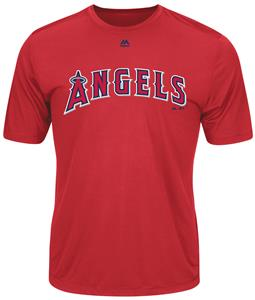 MLB Evolution LA Angels Baseball Tee