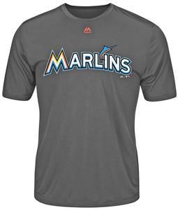 MLB Evolution Miami Marlins Baseball Tee