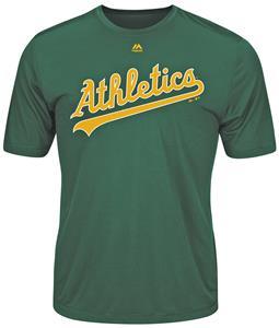 MLB Evolution Oakland Athletics Baseball Tee