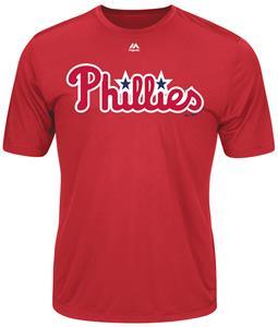 MLB Evolution Philadelphia Phillies Baseball Tee
