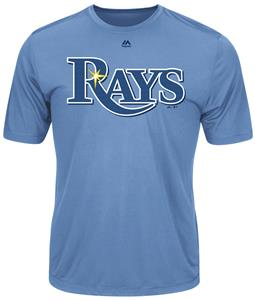 MLB Evolution Tampa Bay Rays Baseball Tee