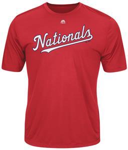 MLB Evolution Washington Nationals Baseball Tee