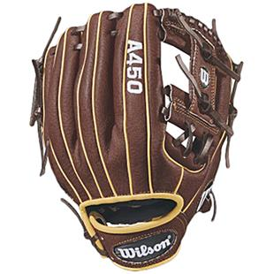 "Wilson A450 11.5"" Utility Baseball Glove"