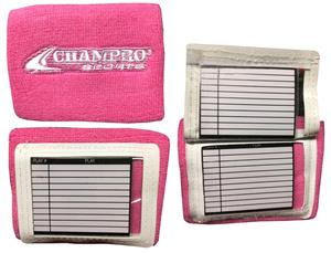 Champro Quarterback Playbook Football Wristband CO