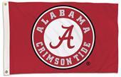 College Alabama Crimson Tide 2'x3' Flag w/Grommet