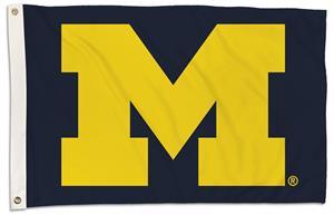 College Michigan Wolverines 2'x3' Flag w/Grommet