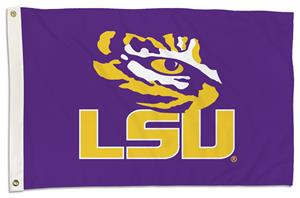 College LSU Tigers 2'x3' Flag w/Grommet