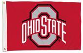 College Ohio State Buckeyes 2'x3' Flag w/Grommet