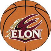 Fan Mats Elon University Basketball Mat