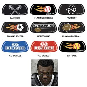 EyeBlack Strips-Various Sports Designs