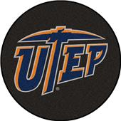 Fan Mats NCAA UTEP Texas Puck Mat