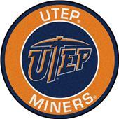 Fan Mats NCAA UTEP Texas Roundel Mat
