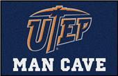 Fan Mats NCAA UTEP Texas Man Cave Starter Mat