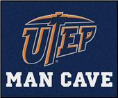 Fan Mats NCAA UTEP Texas Man Cave Tailgater Mat